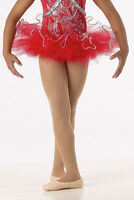 Red Tutu Only Dance Costume Accessory Christmas Ballet Child Sizes