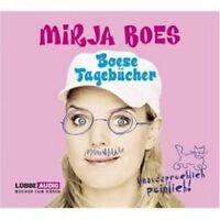 "MIRJA BOES ""BOESE TAGEBÜCHER"" 3 CD HÖRBUCH NEU"