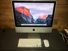 " Apple 20"" iMac Core 2 Duo 2.66GHz 4GB 320Gb A1224 2009 with Warranty "