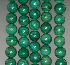 12MM  MALACHITE LACE JASPER GEMSTONE GRADE AA  ROUND LOOSE BEADS 16""