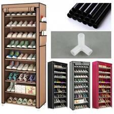 4 Farben10-Schicht Schuhschrank Schuhablage Schuhregal Schuhständer Vliesstoff
