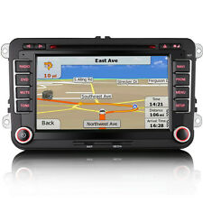 VW Golf Mk5 Mk6 Bluetooth Radio Direct Fit RNS-Style USB Sat-Nav GPS DVD Stereo