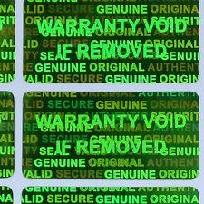 10000 GREEN Security Seal Hologram Tamper Evident Warranty Labels Sticker NSGN30