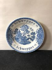 Vintage Blue Will Schweppes Bowl