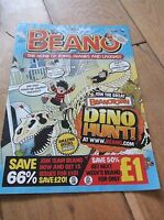 Beano from the Mail On Sunday 2014.