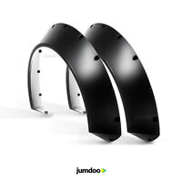 Universal JDM Fender flares CONCAVE over wide body wheel arches ABS 110mm 2pcs
