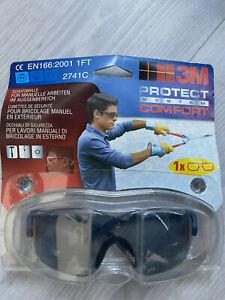3M Schutzbrille 3M 2741C Arbeitsschutz , Augenschutzbrille Protection Glass