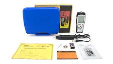 Digital vibration meter 10HZ~1KHZ 0.1~199.9m/s Precision Gauge Analyzer DHL SHIP