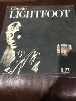 GORDON LIGHTFOOT Classic Lightfoot The Best Of Vol. 2 UAS5510 LP Vinyl VG++
