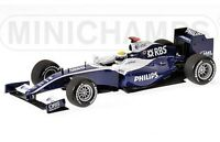 MINICHAMPS 400 090086 WILLIAMS TOYOTA diecast model F1 car Rosberg Showcar 1:43