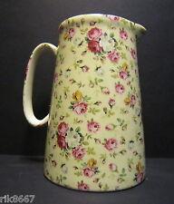 Heron Cross Pottery ROSE BASKET (cream B/G) 4 Pint Milk Jug very big (vase)