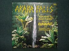 Akaka Falls Torrent & Alexander~AUTOGRAPHED~RARE Private Electric Organ Hawaiian