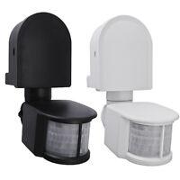 popp mcsensor bewegungsmelder 240 aufputz 16 m reichweite schwarz neu ebay. Black Bedroom Furniture Sets. Home Design Ideas