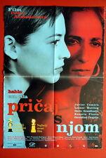 Talk To Her Pedro Almodovar 2002 Rare Exyu Movie Poster