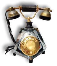 Phone 1960 Crystal Fatap Glass Telephone Glass Glas Vintage Modern Antiques