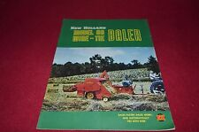 New Holland 80 Wire Tie Baler Dealers Brochure YABE11