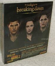 The Twilight Saga Breaking Dawn Part 2 Soundtrack Taiwan CD w/BOX (O.S.T.)