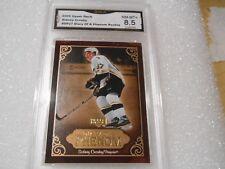 Sidney Crosby GRADED ROOKIE!! 2005/06 UD Diary #DP27 Penguins MVP!! X-8.5