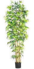 Nearly Natural 5215 Bambusa Bamboo Silk Tree- 7-Feet- Green NEW