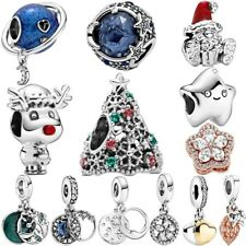 2020 Winter New 925 Sterling Silver Beads Charm Gift Christmas Fiit Pandora new