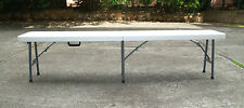 CLEARANCE - 185cm Outdoor Portable Folding Bench $55