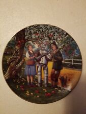 Wizard Of Oz I'M A Little Rusty Yet Plate Ltd Edition National Treasure