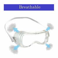 2x lentilles claires anti-buée travail pour lunettes de protection pour enfants