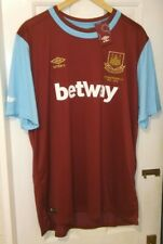 West Ham Umbro 2015/2016 Home Shirt.  Size XXL.  BNWT.  (Boleyn 1904-2016)