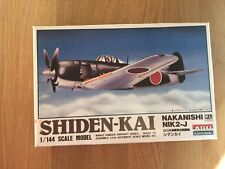 ARII 1/144 Shiden-Kai Nakanishi Nik2-J Fighter New