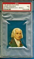 1888 Y95 Scrap Pictures US Presidents Die-Cuts James Madison Psa 7