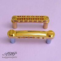 Cordier Chevalet Gotoh GE101Z Stoptail +GE103B Tune-O-Matic Bridge Gold BG23-34G