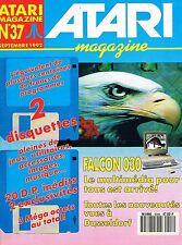 Atari Magazine   N°37   sep 1992 : Falcon 030