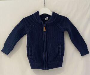 Boys Tu Knitwear Cardigan Age 2-3