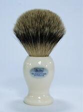 Elegant Badger Shaving Brush Silvertip High Quality Cream Hans Baier Germany