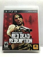 Red Dead Redemption | PlayStation 3 - Complete w/ Manual & Map - Free Shipping