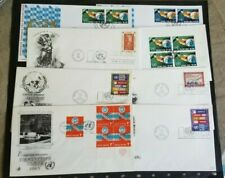 United Nations, small lot of FDC's II