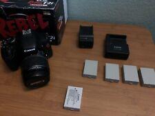 Canon EOS Rebel T2i / EOS 550D 18.0MP Digital SLR Camera - Black (Kit w/ EF-S I…