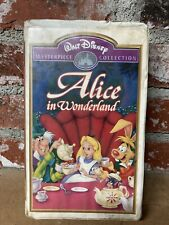 Alice in Wonderland (VHS, 1999)