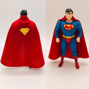 New DC Kenner Super Powers Superman Replica Custom Cape (Cape Only) Long Version