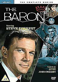 The Baron The Complete Series Dvd Steve Forrest Brand New & Factory Sealed