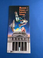 Museum Of Science And Industry Chicago... Brochure