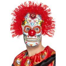 Smiffys Déguisement Homme Masque Clown jour des morts