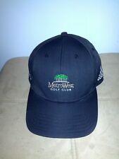 Adidas Metro West Golf Club facebook.com/metrowest black cap hat. Adults