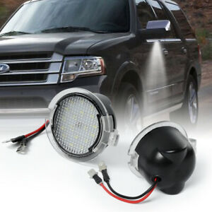18 LED Side Mirror Puddle Light For Ford F150 Edge Explorer Fusion Expedition 2X