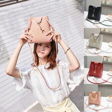 Women Fashion Deer Pendant Cover Mini Crossbody Shoulder Phone Clutch Bucket bag