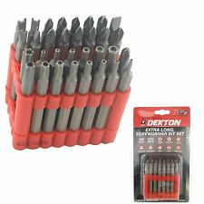 Seguridad Destornillador Bit Set 75mm de largo de potencia Bits Phillips Pozi Torx Estrella Hexagonal