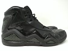 Reebok 1990s Retro Basketball Shoes Size 12 Black Leather 059503-911 - RARE!
