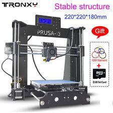 Tronxy 3D Printer X6D High Quality Prusa I3 220*220*180mm Acrylic LCD Screen Kit