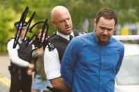 EASTENDERS: MATT SLACK SIGNED 6x4 ACTION PHOTO+COA