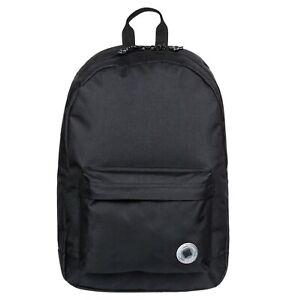 DC SHOES NICKEL BAG MEDIUM BACKPACK BLACK ADYBP03050 KVJ0 SCHOOL